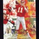 1998 Skybox Premium Football #166 Elvis Grbac - Kansas City Chiefs
