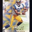 1998 Skybox Premium Football #011 Isaac Bruce - St. Louis Rams