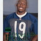 1999 Skybox Premium Football #246 D'Wayne Bates RC - Chicago Bears