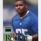 1999 Skybox Premium Football #238 Joe Montgomery RC - New York Giants