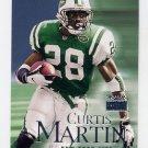1999 Skybox Premium Football #206 Curtis Martin - New York Jets