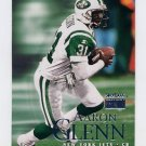 1999 Skybox Premium Football #192 Aaron Glenn - New York Jets