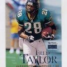 1999 Skybox Premium Football #167 Fred Taylor - Jacksonville Jaguars