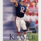 1999 Skybox Premium Football #165 Erik Kramer - San Diego Chargers