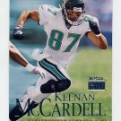 1999 Skybox Premium Football #160 Keenan McCardell - Jacksonville Jaguars