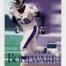 1999 Skybox Premium Football #148 Peter Boulware - Baltimore Ravens
