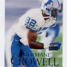 1999 Skybox Premium Football #138 Germane Crowell - Detroit Lions