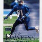 1999 Skybox Premium Football #134 Sean Dawkins - Seattle Seahawks