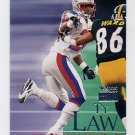 1999 Skybox Premium Football #121 Ty Law - New England Patriots