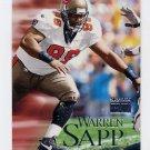 1999 Skybox Premium Football #113 Warren Sapp - Tampa Bay Buccaneers