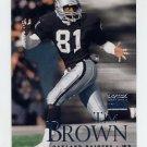 1999 Skybox Premium Football #112 Tim Brown - Oakland Raiders