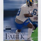 1999 Skybox Premium Football #111 Marshall Faulk - St. Louis Rams