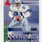 1999 Skybox Premium Football #106 Deion Sanders - Dallas Cowboys