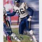 1999 Skybox Premium Football #103 Mikhael Ricks - San Diego Chargers