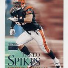 1999 Skybox Premium Football #082 Takeo Spikes - Cincinnati Bengals