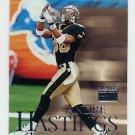1999 Skybox Premium Football #079 Andre Hastings - New Orleans Saints