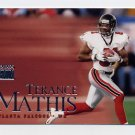1999 Skybox Premium Football #070 Terance Mathis - Atlanta Falcons