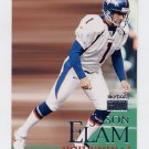 1999 Skybox Premium Football #068 Jason Elam - Denver Broncos