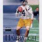 1999 Skybox Premium Football #050 Jim Harbaugh - San Diego Chargers