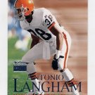 1999 Skybox Premium Football #043 Antonio Langham - Cleveland Browns