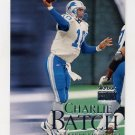 1999 Skybox Premium Football #037 Charlie Batch - Detroit Lions