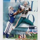 1999 Skybox Premium Football #024 Oronde Gadsden - Miami Dolphins