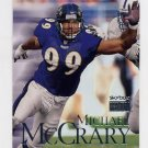 1999 Skybox Premium Football #022 Michael McCrary - Baltimore Ravens