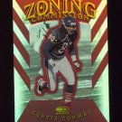1997 Donruss Football Zoning Commission #20 Curtis Conway - Chicago Bears 4107/5000