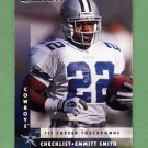 1997 Donruss Football #228 Emmitt Smith CL - Dallas Cowboys