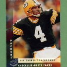 1997 Donruss Football #227 Brett Favre CL - Green Bay Packers