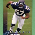 1997 Donruss Football #222 Dwayne Rudd RC - Minnesota Vikings