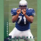 1997 Donruss Football #221 Walter Jones RC - Seattle Seahawks