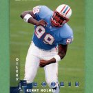 1997 Donruss Football #218 Kenny Holmes RC - Tennessee Titans