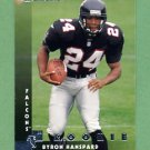 1997 Donruss Football #215 Byron Hanspard RC - Atlanta Falcons