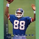 1997 Donruss Football #210 Ike Hilliard RC - New York Giants
