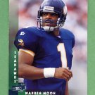 1997 Donruss Football #183 Warren Moon - Seattle Seahawks