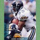 1997 Donruss Football #182 James O. Stewart - Jacksonville Jaguars