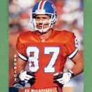 1997 Donruss Football #172 Ed McCaffrey - Denver Broncos
