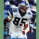 1997 Donruss Football #168 Wesley Walls - Carolina Panthers