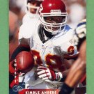 1997 Donruss Football #158 Kimble Anders - Kansas City Chiefs