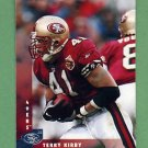 1997 Donruss Football #143 Terry Kirby - San Francisco 49ers