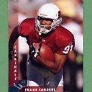 1997 Donruss Football #136 Frank Sanders - Arizona Cardinals