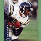 1997 Donruss Football #125 Tony Martin - San Diego Chargers