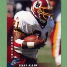 1997 Donruss Football #121 Terry Allen - Washington Redskins