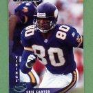 1997 Donruss Football #110 Cris Carter - Minnesota Vikings