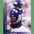 1997 Donruss Football #077 Jake Reed - Minnesota Vikings