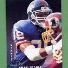 1997 Donruss Football #069 Amani Toomer - New York Giants