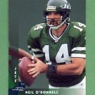 1997 Donruss Football #065 Neil O'Donnell - New York Jets