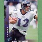 1997 Donruss Football #062 Vinny Testaverde - Baltimore Ravens