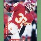 1997 Donruss Football #050 Marcus Allen - Kansas City Chiefs